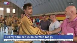 Dubnickí inline hokejisti triumfovali, získali už siedmy titul