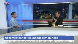 HOSŤ V ŠTÚDIU: Prognostik SAV V. Baláž o nezamestnanosti v Európe