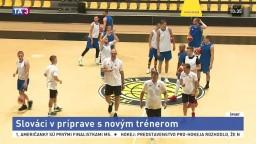 Slovenskí basketbalisti vstúpili do prípravy s novým trénerom