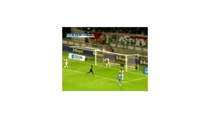 Ajaxom Amsterdam remizoval s  AZ Alkmaar 2:2