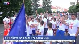 V Prešove sa začal Fragaria Cup, zahrajú si mladí futbalisti z celej EÚ