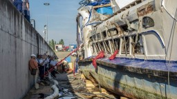 Panika a výkriky. Pustili záznam, ktorý zachytil zrážku lodí na Dunaji