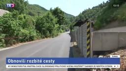 Rozbité cesty v Štiavnických vrchoch sú minulosťou