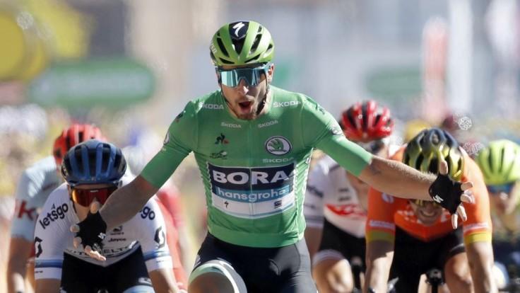 Sagan sa dočkal triumfu, v hromadnom špurte nemal súpera