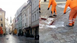 Centrum Bratislavy po hromadnej bitke upratali, takto to vyzeralo