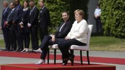 Merkelová po tretej triaške prijala dánsku premiérku v sede