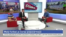 ŠTÚDIO TA3: P. Králik a L. Borbély o malom futbale