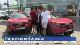 Slováci sa na sezónu pripravujú doma, pomôcť by im mali nové autá