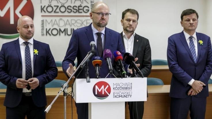 Dohodnite sa, vyzýva SaS Maďarov. Ponúka miesta na kandidátke