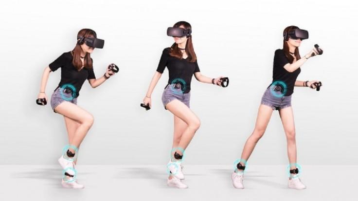 Senzory Kat Loco prenesú pohyby vašich nôh do virtuálnej reality