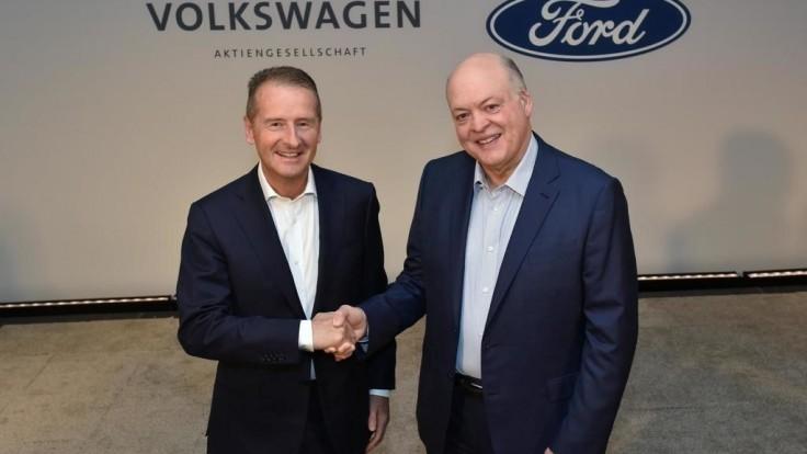 Ford a Volkswagen prehĺbia kooperáciu