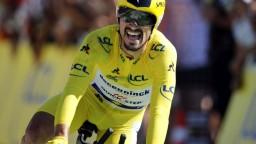 13. etapu vyhral Alaphilippe, Sagan pobavil divákov svojou fintou