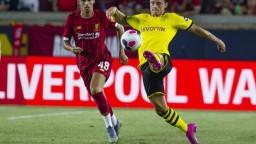 Dortmund sa lúči s Amerikou víťazstvom, porazil FC Liverpool 3:2
