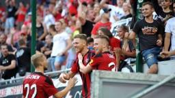 Spartak vstúpil do sezóny triumfom, Sereď sa nepresadila