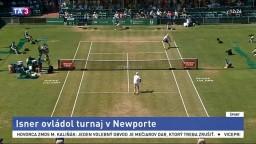 Inser ovládol turnaj v Newporte. Stal sa víťazom