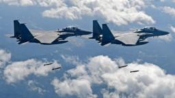 Nad Južnou Kóreou padli výstrely, priestor narušil ruský stroj