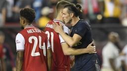 Bale dostal od Zidana šancu proti Arsenalu a hneď skóroval