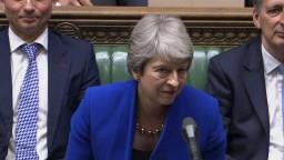 Rozlúčkové vystúpenie premiérky T. Mayovej v britskom parlamente