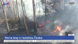 V Rusku horia lesy, rozlohou by pokryli celé Česko