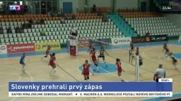 Slovenky čakajú tri zápasy s Chorvátkami. Prvý prehrali