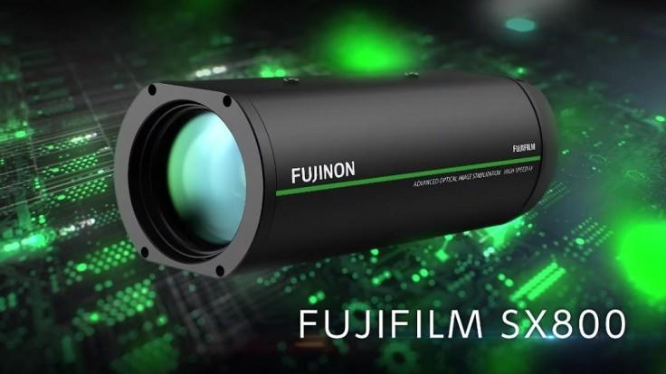 Bezpečnostná kamera Fujifilm SX800 má 40 násobné optické priblíženie