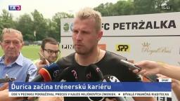 Bývalý stopér J. Ďurica o svojej začínajúcej trénerskej kariére