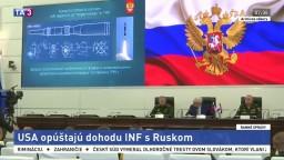 USA opustili dohodu INF s Ruskom, môže za to Putinova raketa