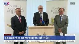 TB predstaviteľov NKÚ a českého Kontrolného výboru o spolupráci