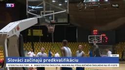 Naša basketbalová reprezentácia začína predkvalifikáciu na ME