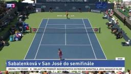 Do semifinále WTA sa dostala Sabalenková. O postup si zahrá s Vekičovou