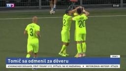 Trenčianskemu brankárovi ušla lopta, o ďalší gól sa postaral Tomič