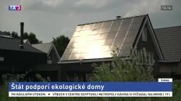 Štát podporí ekologické domy, chce motivovať k šetreniu energií