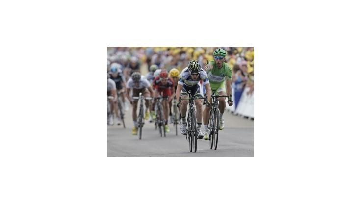 Millar vyhral 12.etapu TdF, Sagan po verdikte jury napokon 6.