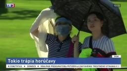 Tokio trápia horúčavy, mohli by ovplyvniť chod olympijských hier