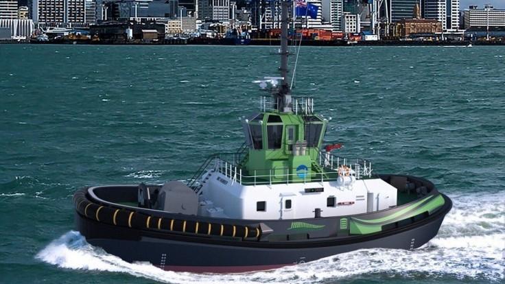 Prístav v Aucklande bude mať prvý elektrický remorkér na svete