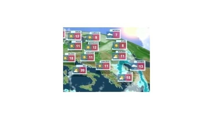 Počasie: Predpoveď na dnes