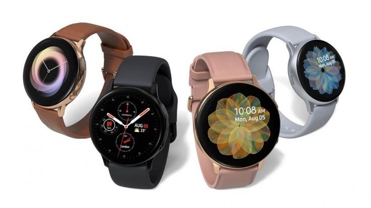 Inteligentné hodinky Galaxy Active 2 s dotykovým rámom a LTE