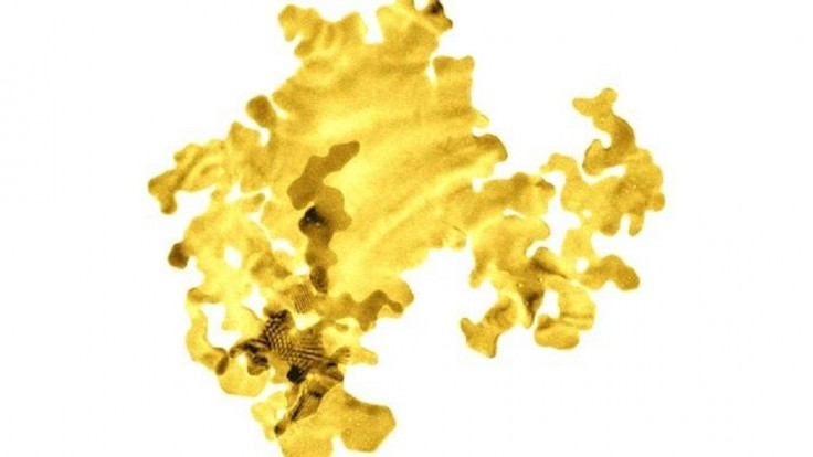 Najtenší plátok zlata na svete má hrúbku len dva atómy