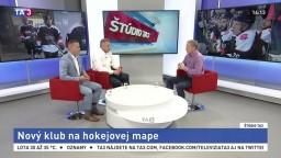 ŠTÚDIO TA3: D. Pašek a P. Oremus o klube Bratislava Capitals