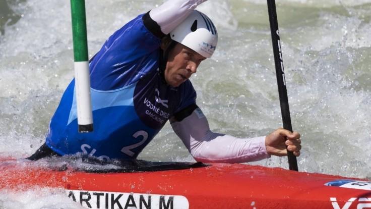 Martikán aj napriek dvom trestným sekundám zvíťazil na Slovak Open