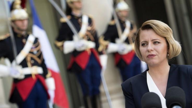 Ľudia na Slovensku ukázali zrelosť, povedala ocenená Čaputová