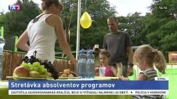 Absolventi výmenných programov sa stretli na Záhorí