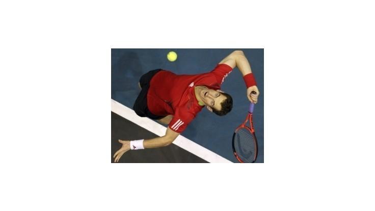 Kližan novou slovenskou jednotkou, Murray predstihol Federera