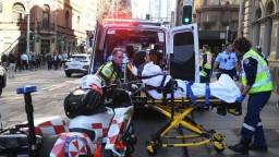 Alláhu akbar, zabite ma, volal muž pri útoku v centre Sydney
