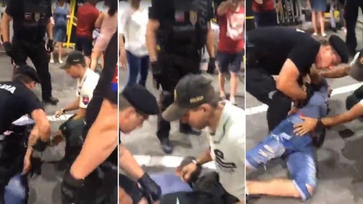 Ľudia zdieľajú video s Rómami a políciou, zákrok prešetria