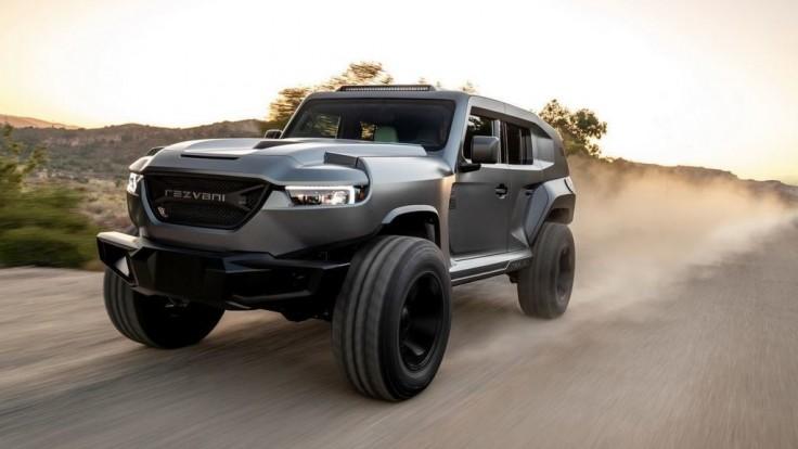 Rezvani Tank 2020: Najodolnejšie SUV sveta s motorom z Dodge Demon
