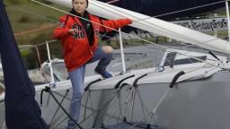 Fotogaléria: Aktivistka Greta prepláva Atlantik. Takto bude žiť