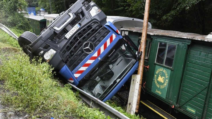 Náraz nákladiaku zničil národnú kultúrnu pamiatku v Košiciach