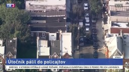 V USA opäť zaznela streľba, útočník pálil do policajtov