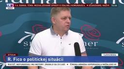 TB R. Fica o politickej situácii aj komunikácii M. Kočnera